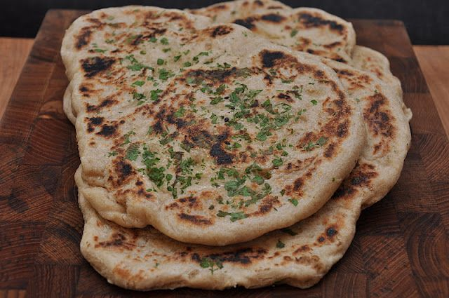 homemade naan, a la twin-food.blogspot.com.
