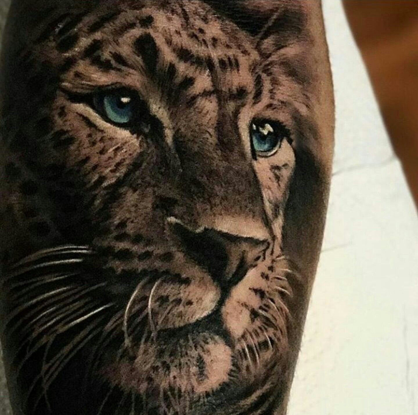 Tattoo By Ig Sergiofernandeztattoo Leopard Tattoos Big Cat Tattoo Cheetah Tattoo