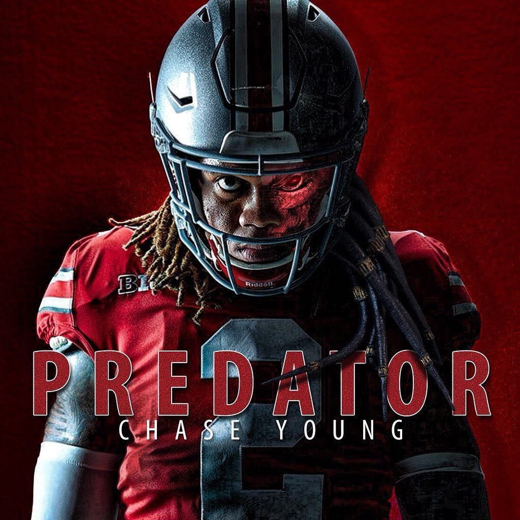 Chase Young On Instagram It About That Time Y All Ready Chase Young O In 2020 Ohio State Buckeyes Clothes Ohio State Buckeyes Football Ohio State Buckeyes Funny