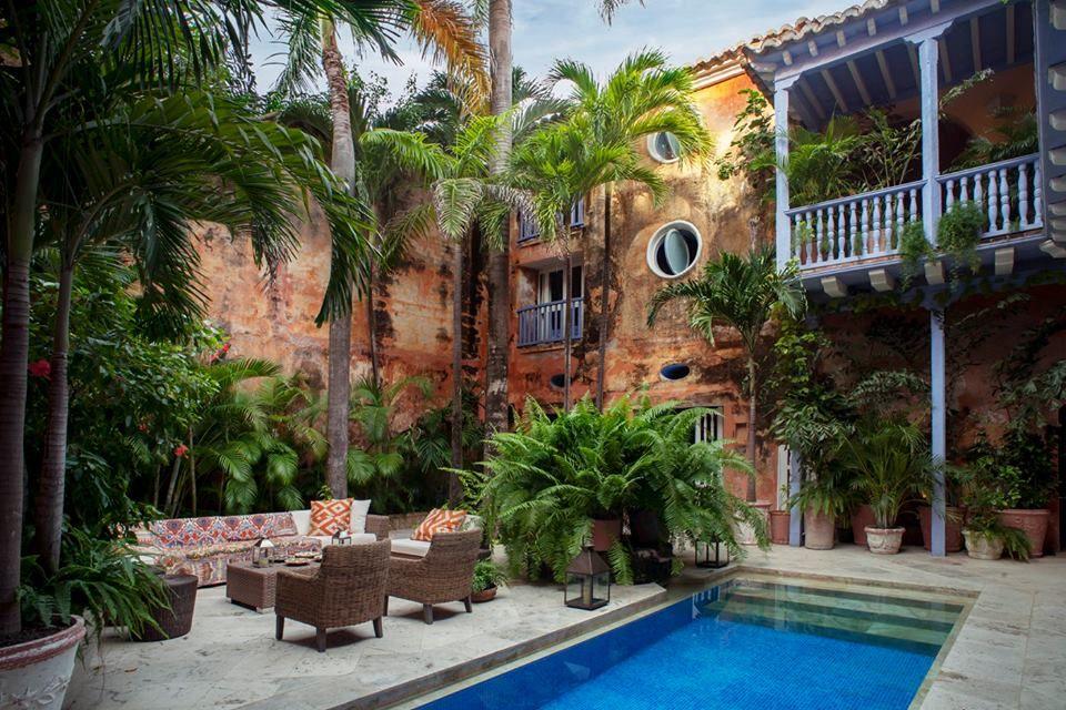 Cartagena Colombia Casa colonial, Casas coloniales