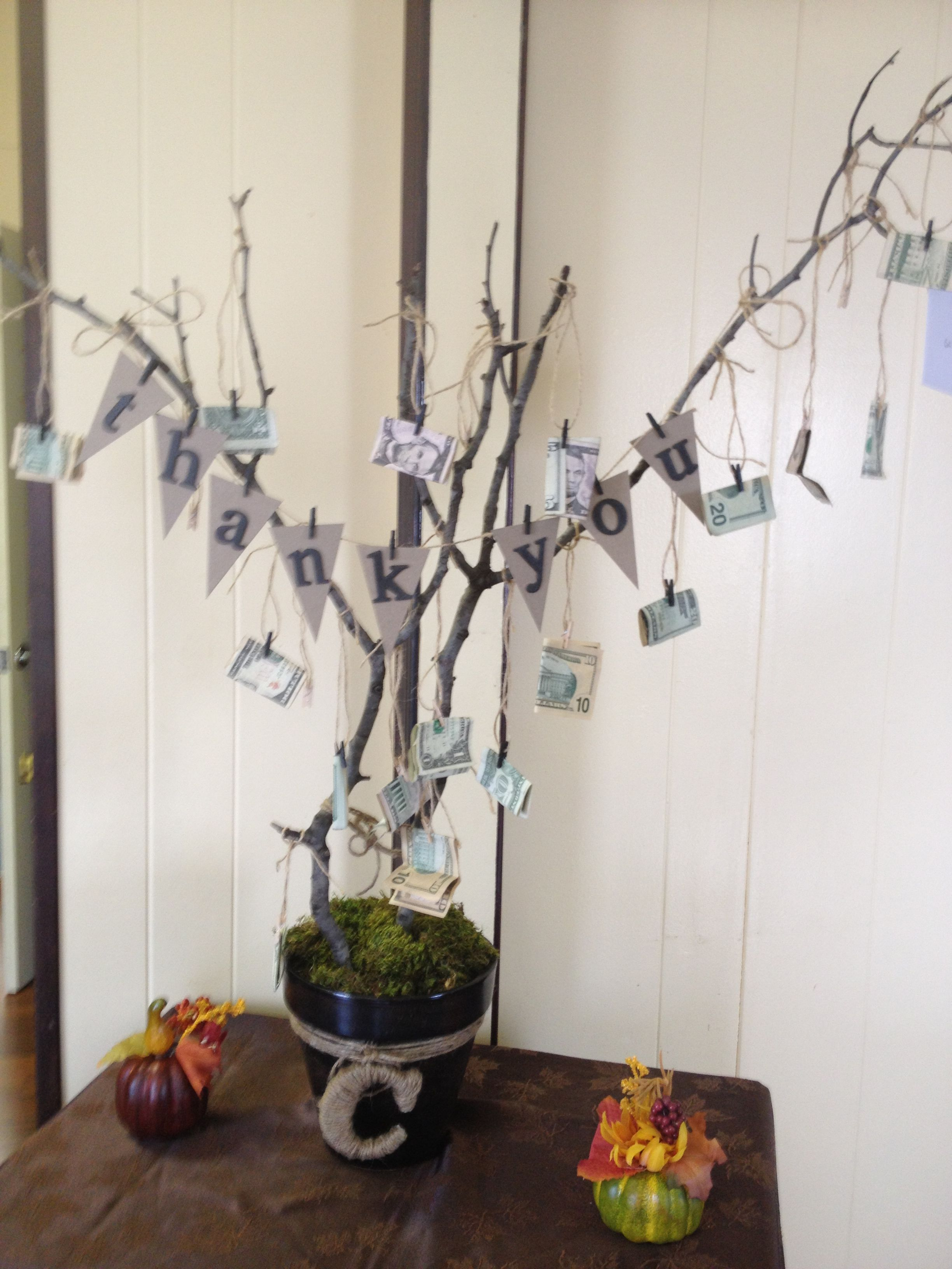 Pastor appreciation money tree anniversary pinterest money