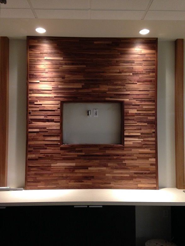 Pared rustica flotante para tv google search room - Panel madera pared ...