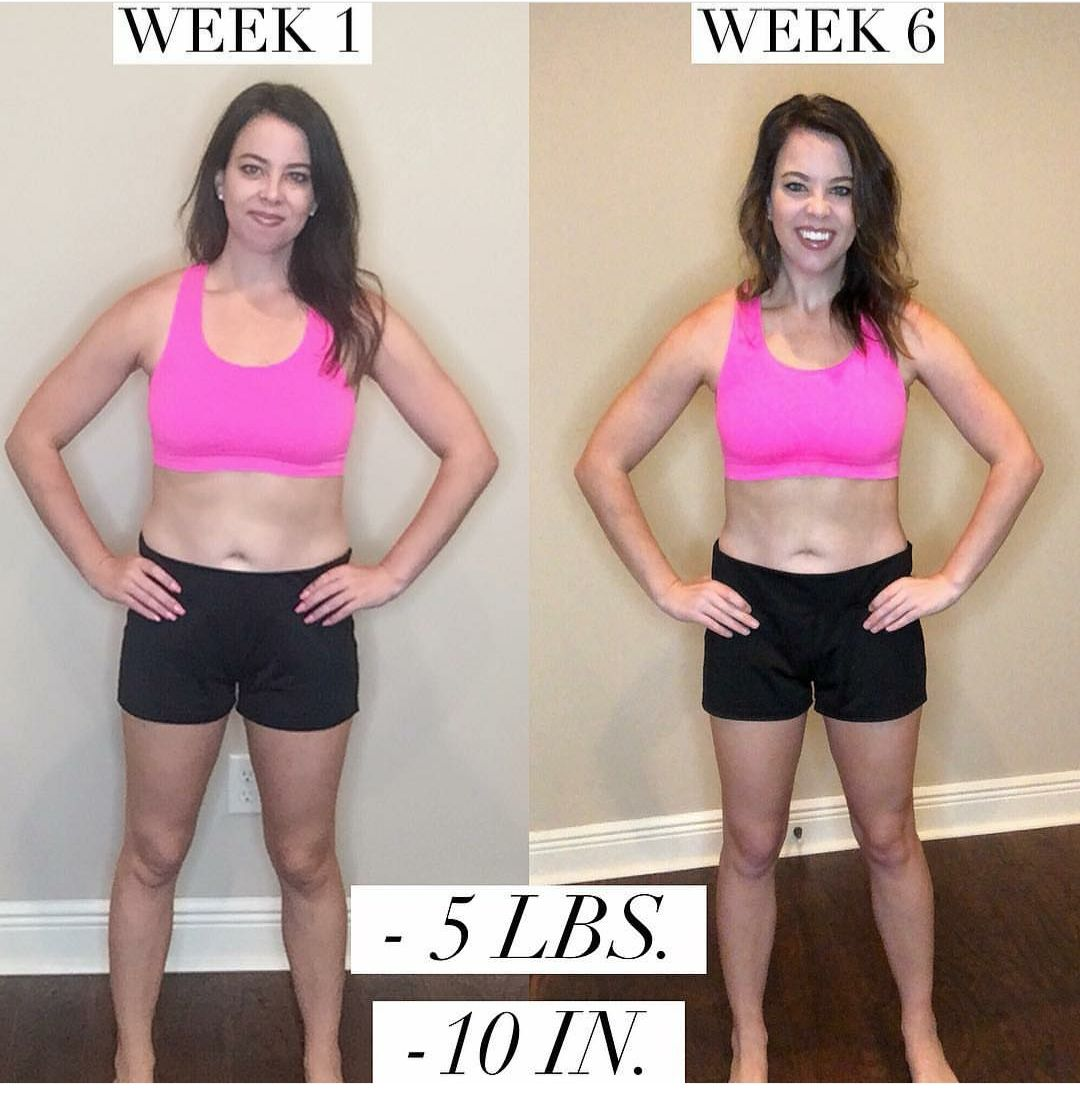 Transform:20 Test Group Results - see the weight loss