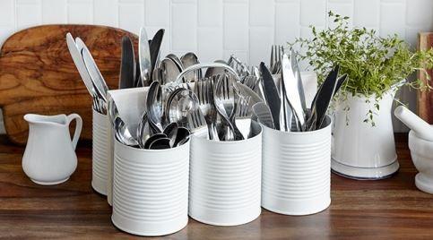 5 rangements DIY récup et malins pour la cuisine Cafe shop - Poser Papier A Peindre