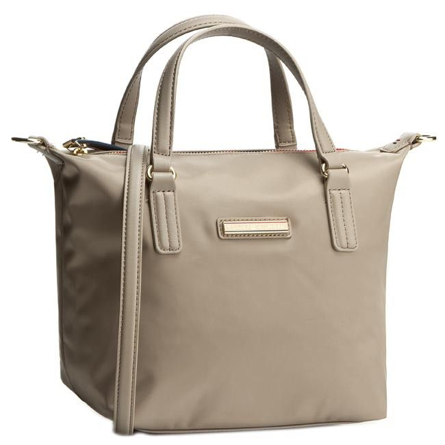 Táska TOMMY HILFIGER - Poppy Small Tote AW0AW01911 Dune 011 ... a2f988e024