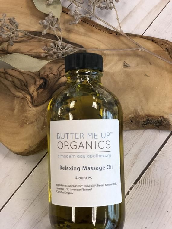 Relaxing Massage Oil /Lavender Oil / Holiday Gift / Valentine's Day Gift / Gift for Spouse / Gift for Wife / Relaxation Gift /