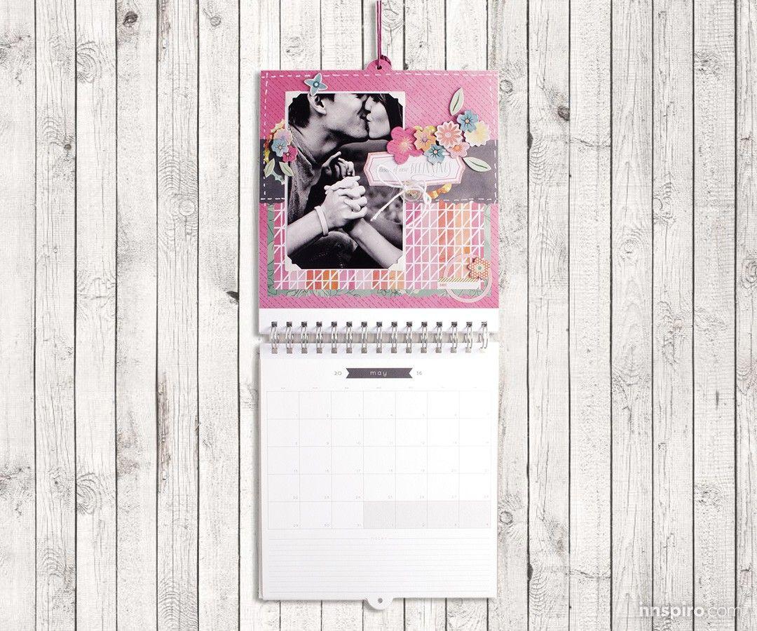 El kit de Basic Grey tiene todo lo que necesitas para crear un bonito calendario para el 2016.