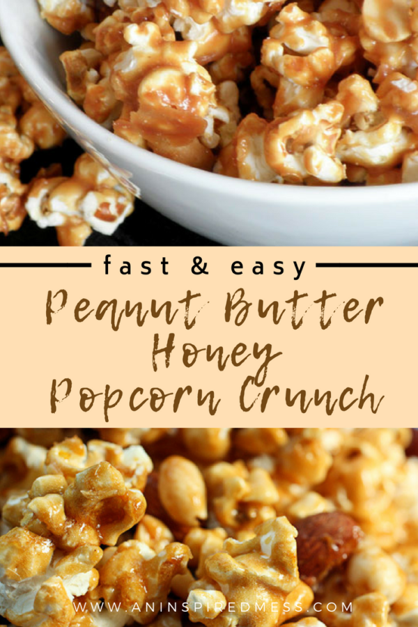 Peanut Butter Honey Popcorn Crunch Recipe