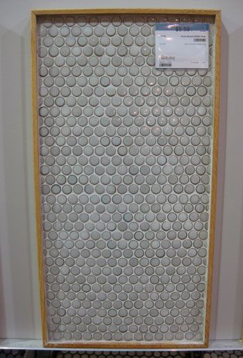 Picking penny tile for our kitchen backsplash kitchen - Penny tile backsplash kitchen ...