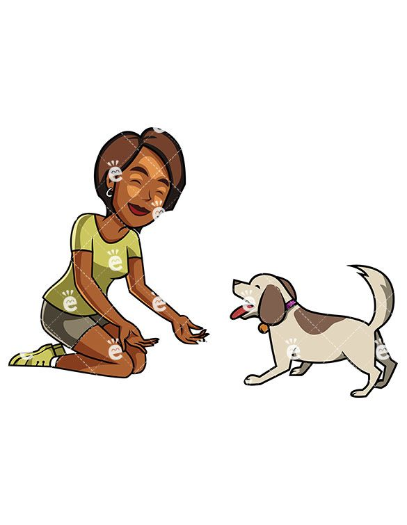 A Black Woman And Her Dog Spending Quality Time Together In 2020