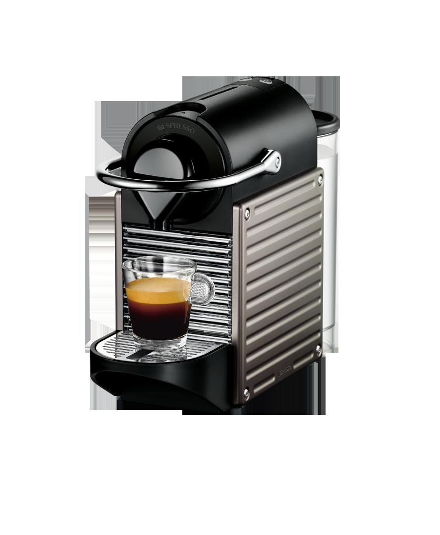 Pixie Titânio Eletrizante 110v Máquina de Café Nespresso