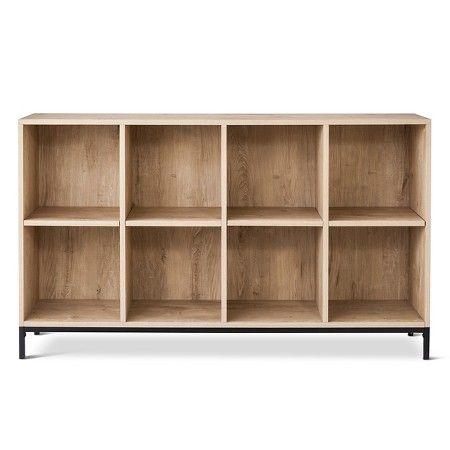 Darley 8 Cube Bookcase - Vintage Oak - Threshold : Target