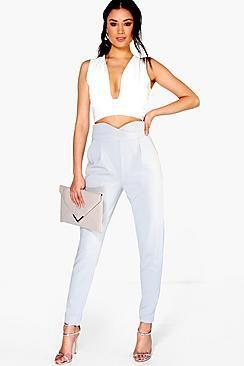 c2d606d89196 Womens Trousers | Disco Pants, Joggers & Wide Leg Trousers | boohoo ...
