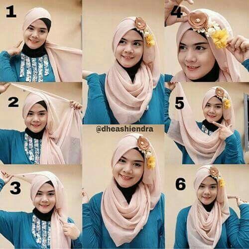 Pashmina Hijab Tutorial Tutorial Hijab Wisuda Hijab Fashion