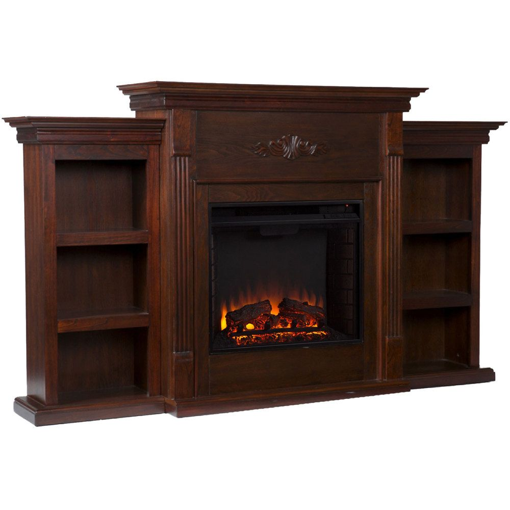 Upton Home Dublin Espresso Electric Fireplace - Overstock™ Shopping - Great Deals on Upton Home Indoor Fireplaces
