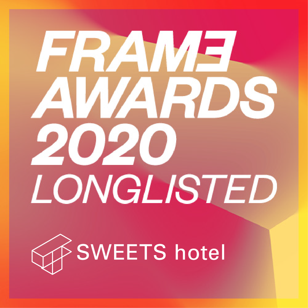 We are incredibly honoured to be longlisted for the Frame Awards 2020! The shortlist is announced next week on December 12th.  #sweetshotel #sweetshotelamsterdam #amsterdam #awardwinning #awards #nominated #longlisted #longlist #frameawards #frameawards2020 #spatialawards #hospitalityawards #hospitality #framemagazine #interiormagazine #spatialdesign #interiordesign #spatialmagazine #designmagazine #designawards #interiorawards #hotelawards #interiors #architecture