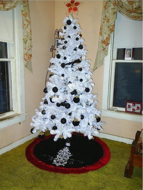 black christmas black christmas tree skirt - Black Christmas Tree Skirt