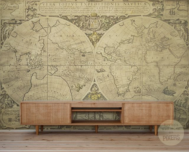 Physical world map wall mural miller projection 879674 world map wallpaper physical world map wall mural gumiabroncs Gallery