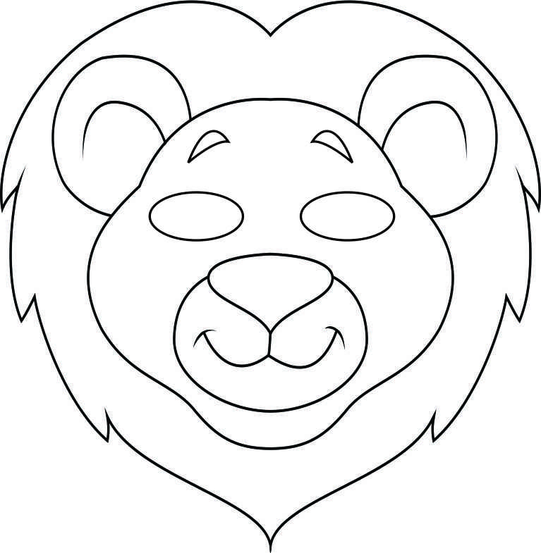 These Jungle Masks are perfect for at home play or for your VBS - face masks templates