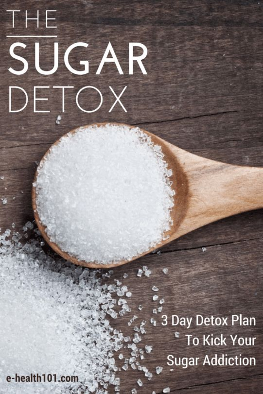 The Sugar Detox: 3-Day Detox Plan To Stoß Your Sugar Addiction. Seems legit...  ...  #3Day #A... #sugardetoxplan