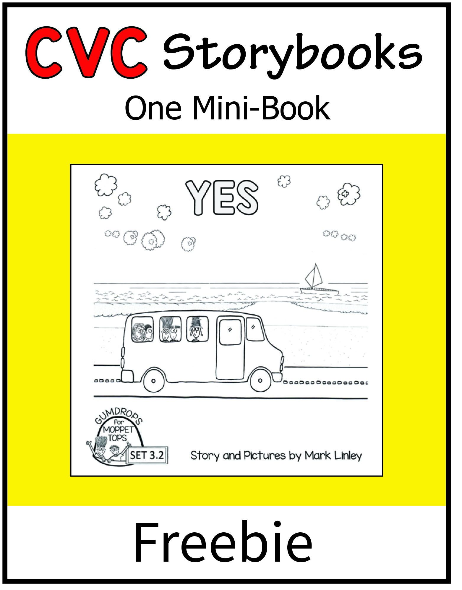 Cvc Storybook