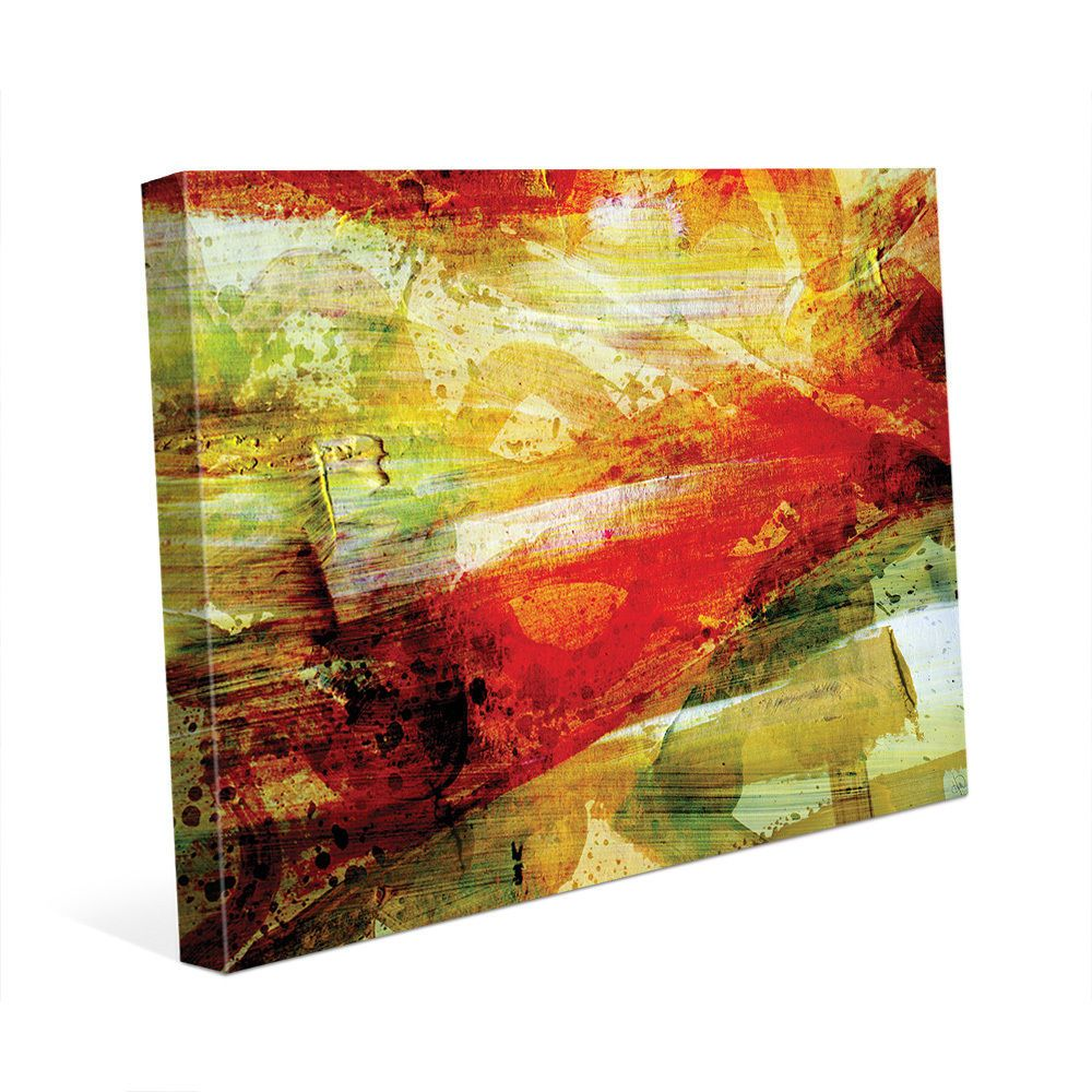 Great Red Abstract Wall Art Photos - The Wall Art Decorations ...