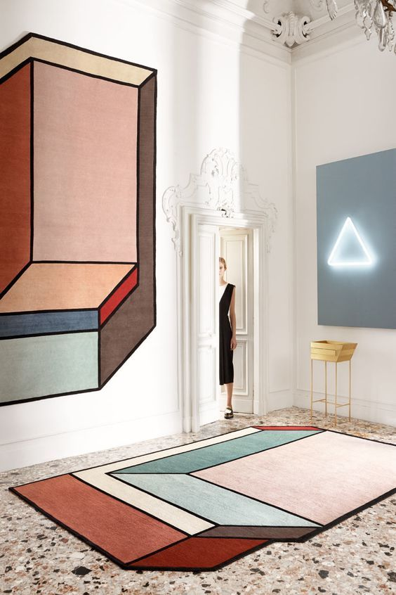 geometric pinterest interiors rug inspiration and modern rh pinterest com