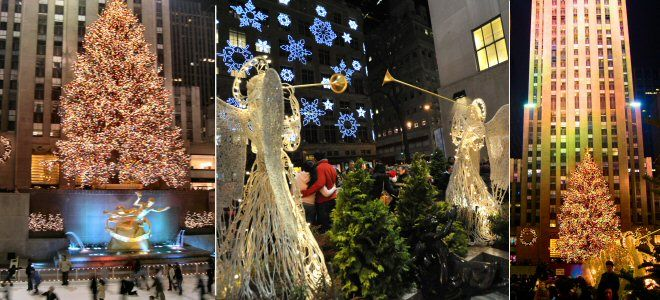 rockefeller center christmas tree lighting ceremony in new york city holidays in nyc