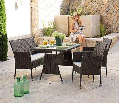 New Gartenm belset Trentino tgl Sessel Bank Tisch
