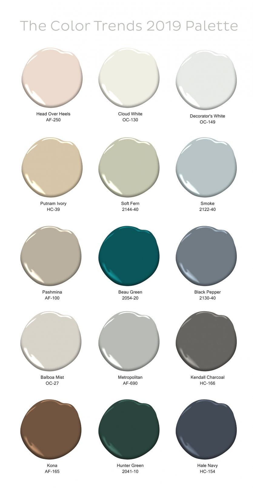 Podcast, Ep. 69: 2019 Color Trends with Benjamin Moore's Ellen O'Neill images