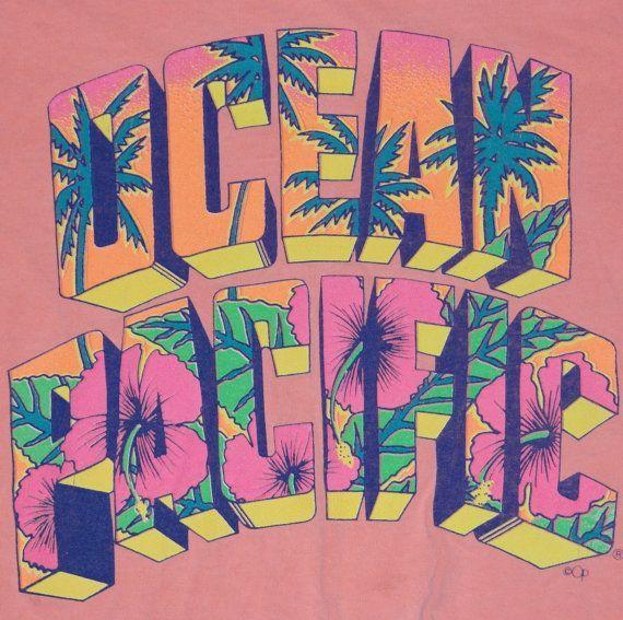 Ocean Pacific, or OP - BIG in the 80's