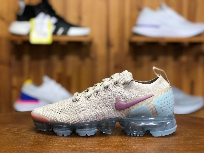 outlet store sale 9be6f dcc87 2018 Nike Air Vapormax Flyknit 2.0 Womens Sneaker Pink Jade 942843-203