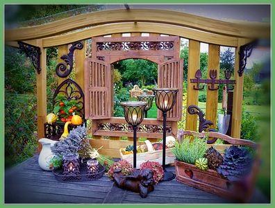 Dekorationen Aus Holz Dekoratives Ensemble Mit Holz Wohnen Amp Garten Deko Leben Unter Freiem Himmel Wohnen Und Garten