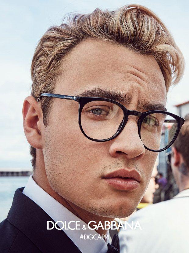8773065bb7cd Dolce and Gabbana SS17 Eyewear Starring Cameron Dallas