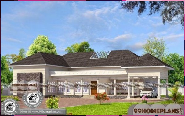 House Floor Plans One Story Amp 70 Traditional Kerala Style House Plans Bungalow Floor Plans Dream House Exterior Modern Bungalow House Design