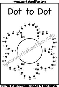 Dot To Dot Free Printable Worksheets Free Printable Worksheets Dot Worksheets Dots Free