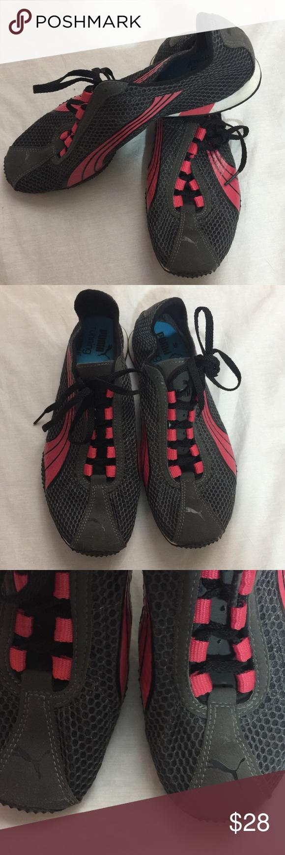 430c5372308 Puma running eco ortholite Woman s size 9 Puma running eco ortholite Woman s  size 9 Gray and pink Lightweight running shoe Great condition