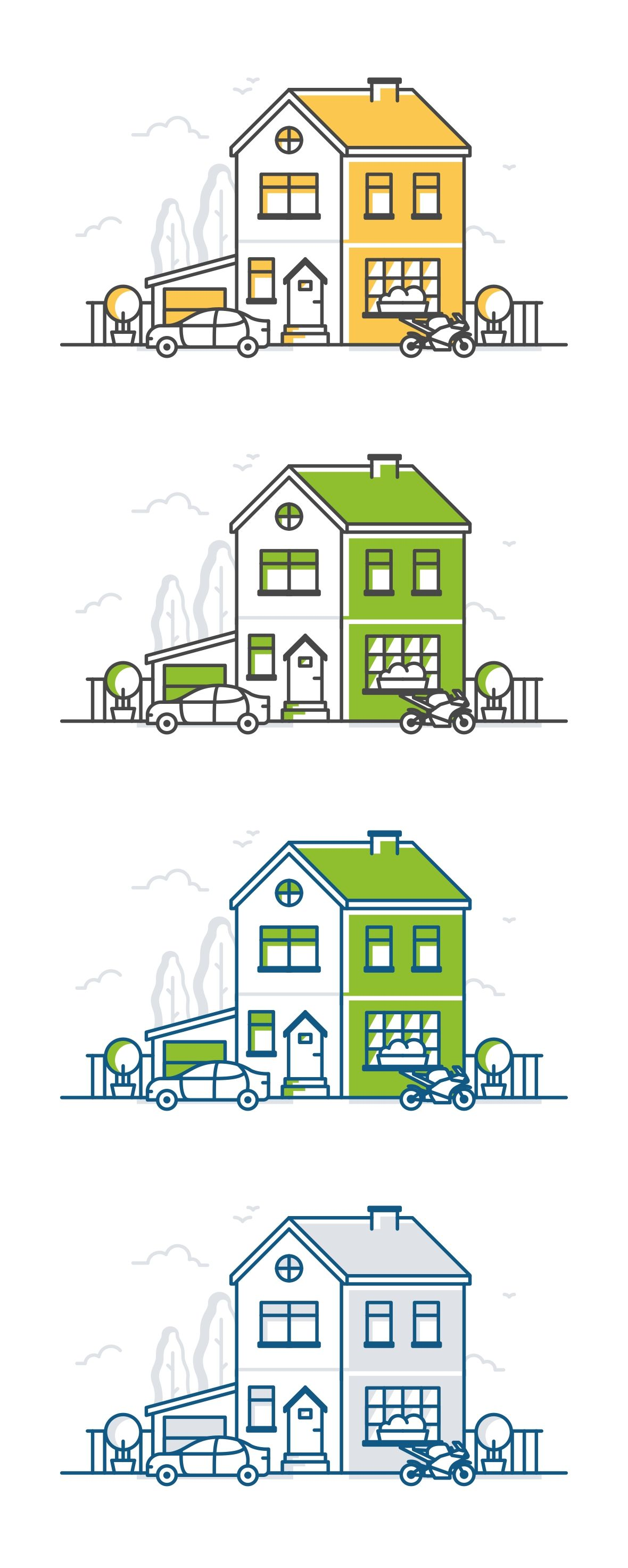 Residential Big House Add 画像あり 間取り イラスト