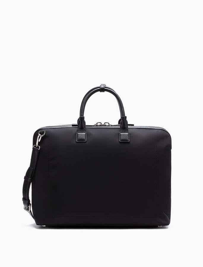 64f5eee9edb Engineered nylon weekender bag | Products | Bags, Calvin klein, Suitcase