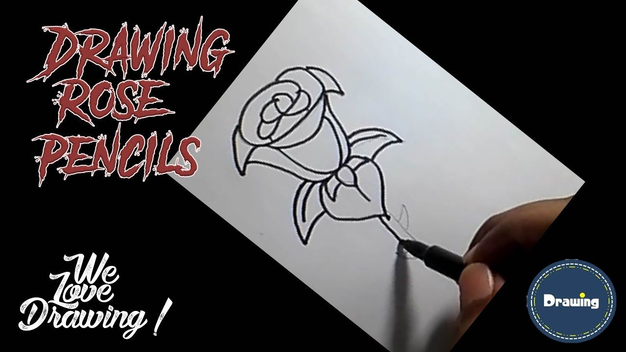 Drawing I How To Draw A Rose Easy Innovative Ideas Step By Step For