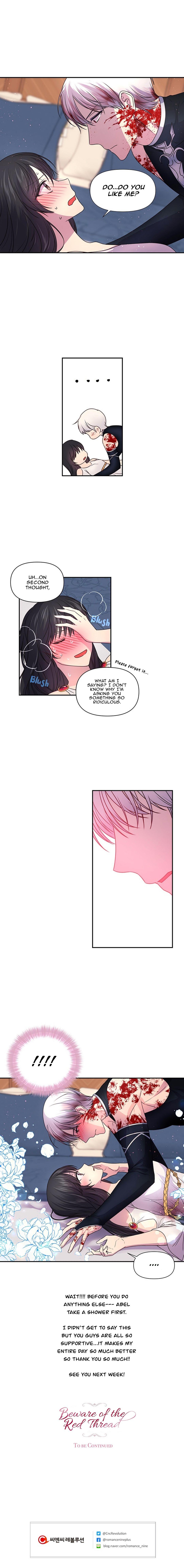 Beware of the red thread chapter 10 page 13 mangakakalot