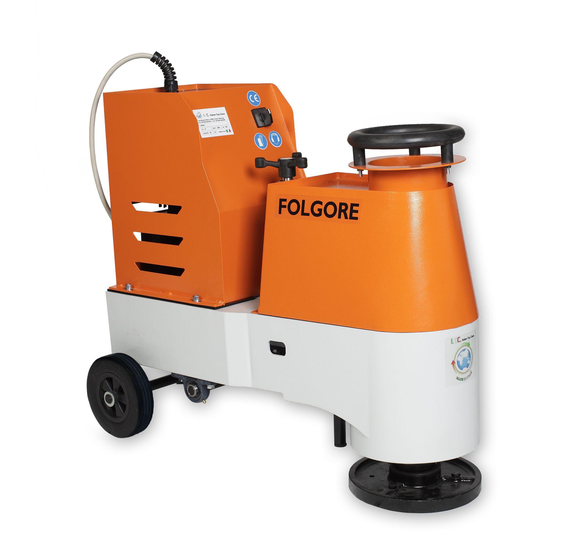 ITC FOLGORE - floor grinding/polishing machine.