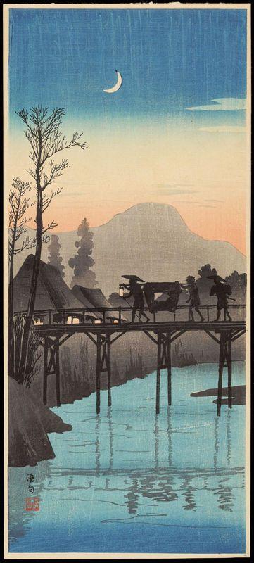 """Shotei, Takahashi (1871-1945) """"Sakawa"""""""