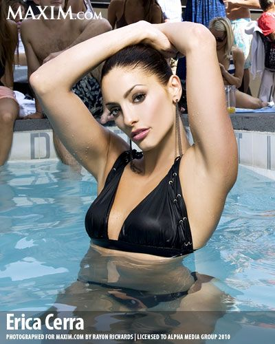 Erica Cerra Maxim Deputy Jo Lupo Of Eureka Famous Women