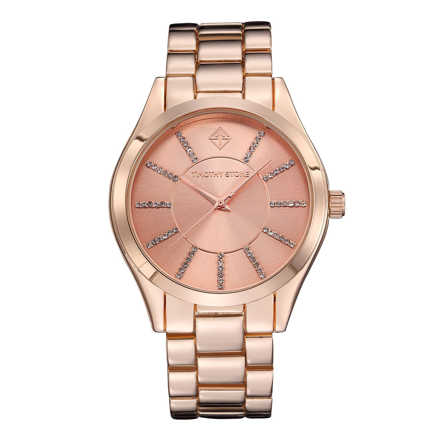 Timothy Stone Charme Women's Rose Goldtone Stainless Watch