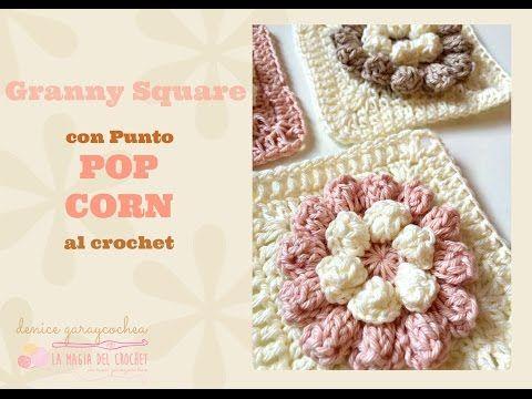 TUTORIAL FLOR A CROCHET II - YouTube | crochet how to | Pinterest ...