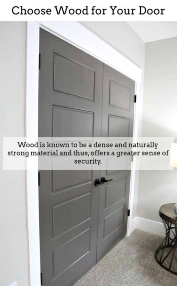 Internal Panel Doors Solid Wood Interior Doors White Room Door