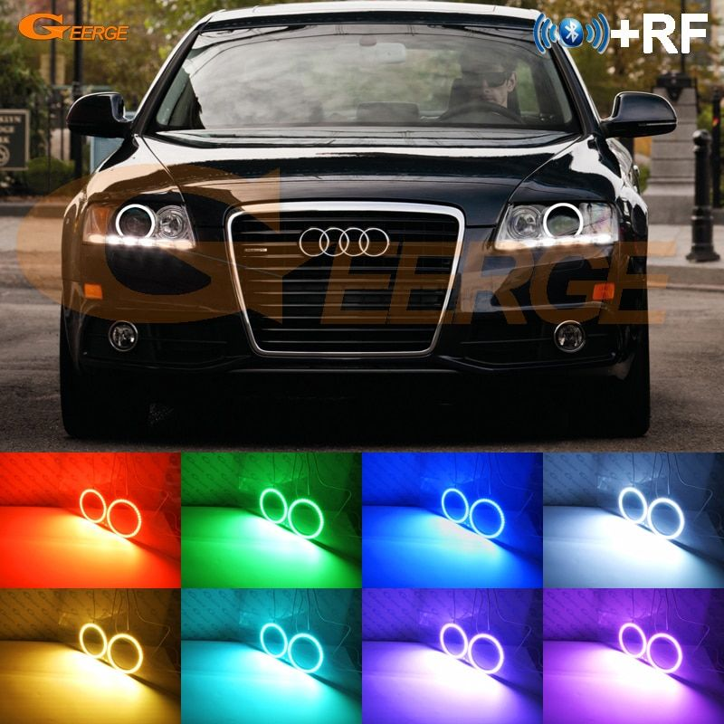 Cheap Ring Ring Buy Quality Ring Led Directly From China Ring For Suppliers For Audi A6 S6 Rs6 2009 2010 2011 Xenon Headlight Rf B Audi A6 Angel Eyes Rgb Led