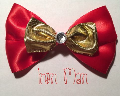 Iron Man Bow from Enchanted Wares Boutique