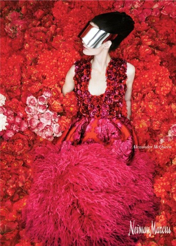 Neiman Marcus Fashion Ad Campaign – Alexander McQueen